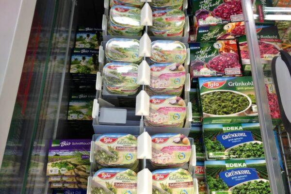 Lift frozen herbs